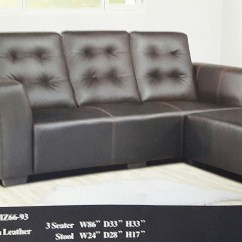 Sofa Bed Malaysia Murah Leather Dog Protector Ansuran Set Lshape Model 6693 Home Furniture Photo
