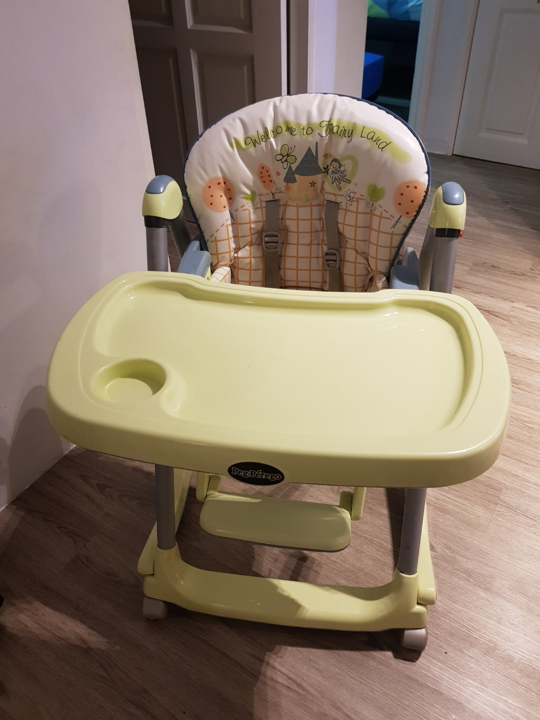 Perego High Chair Preloved Peg Perego Prina Pappa Rocker High Chair