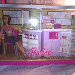 Barbie Kitchen Playset Cabinet Images Original Brandneelw Toys Games On Share This Listing