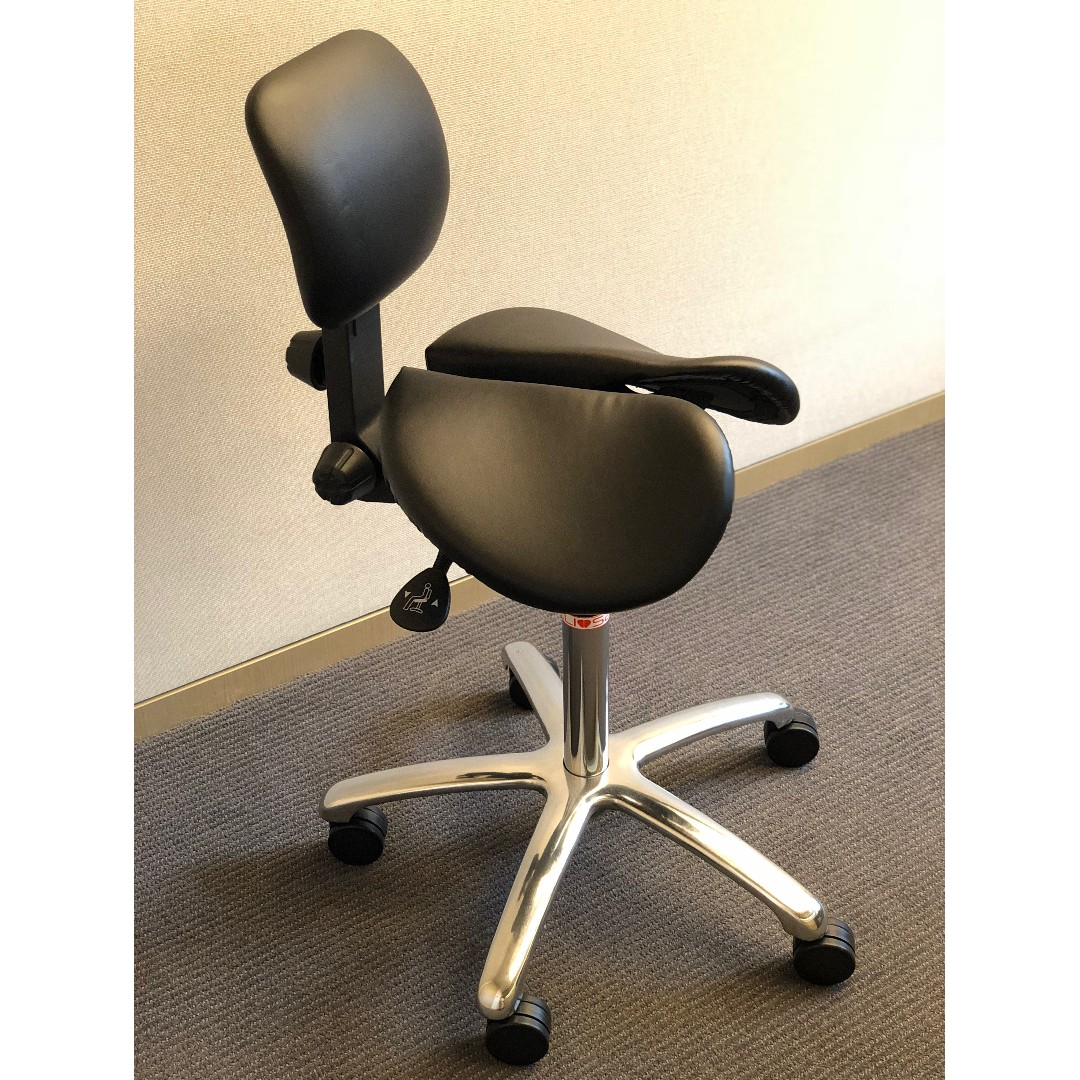 Salli Chair 人體工學椅子 芬蘭salli牌子 98 New Salli Ergonomic Chair