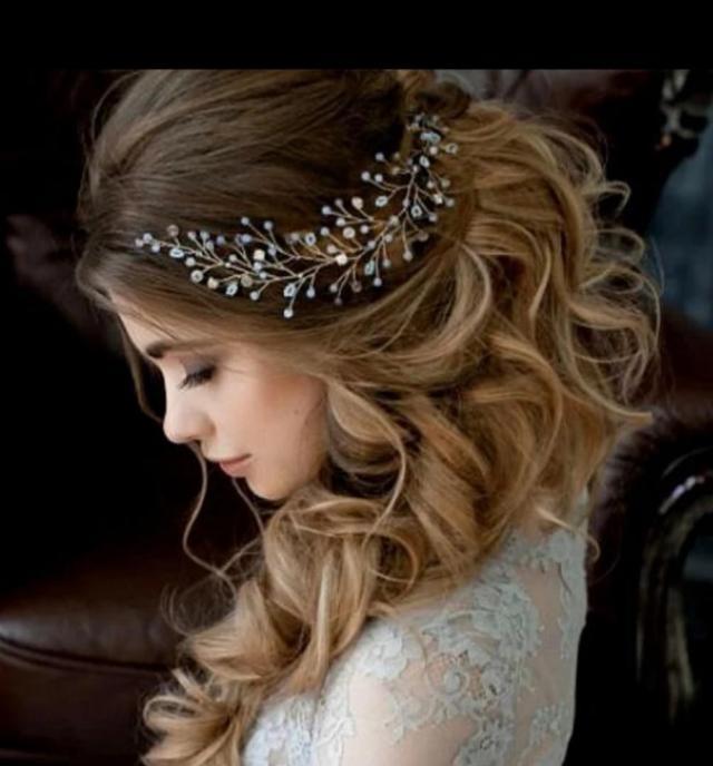 bridal hair accessories /wedding tiara hair comb (instock