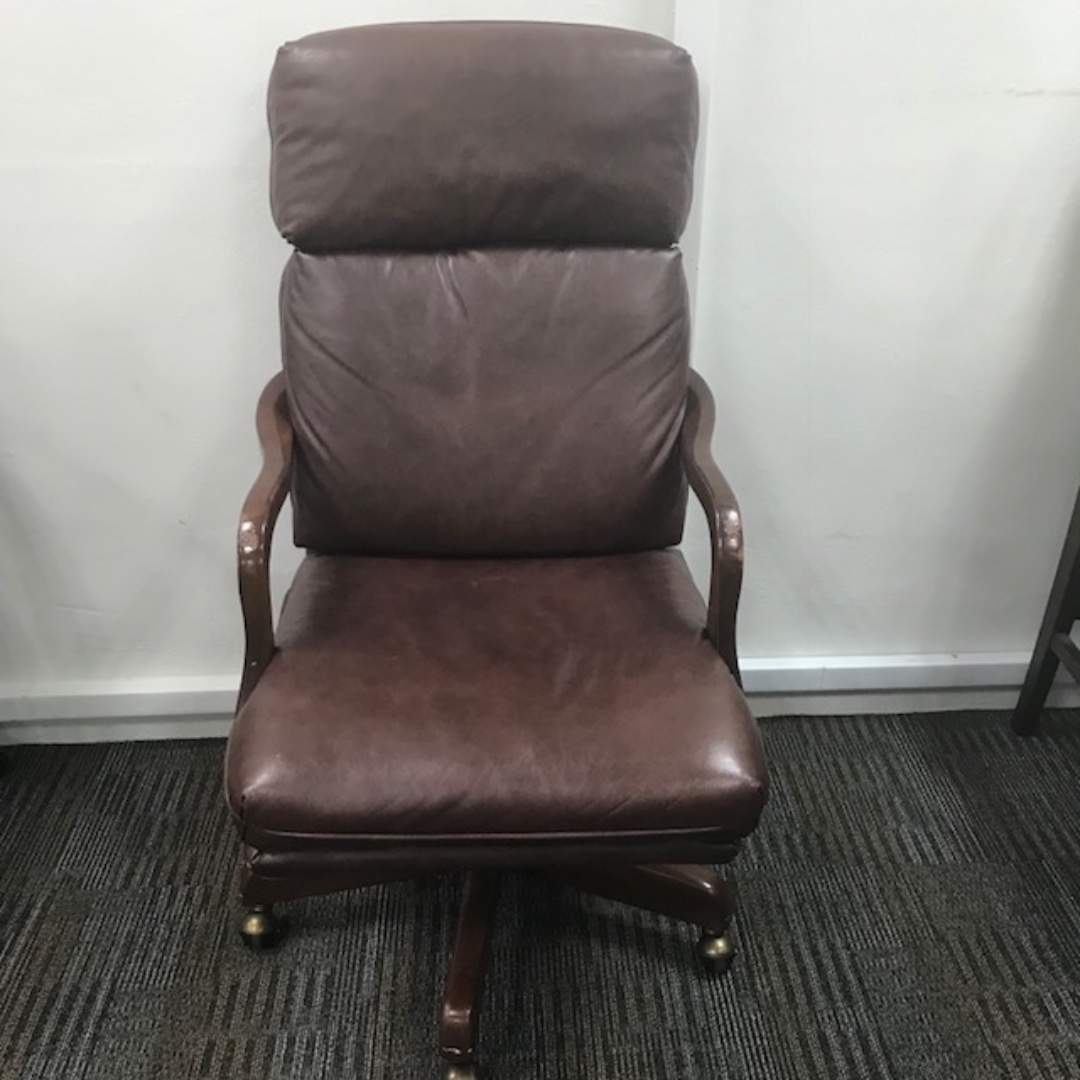 Executive Leather Chair Bradington Young Executive Office Leather Chair
