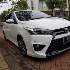 Toyota Yaris Trd Putih Perbedaan All New Kijang Innova G Dan V S At 2014 Cars For Sale On Carousell