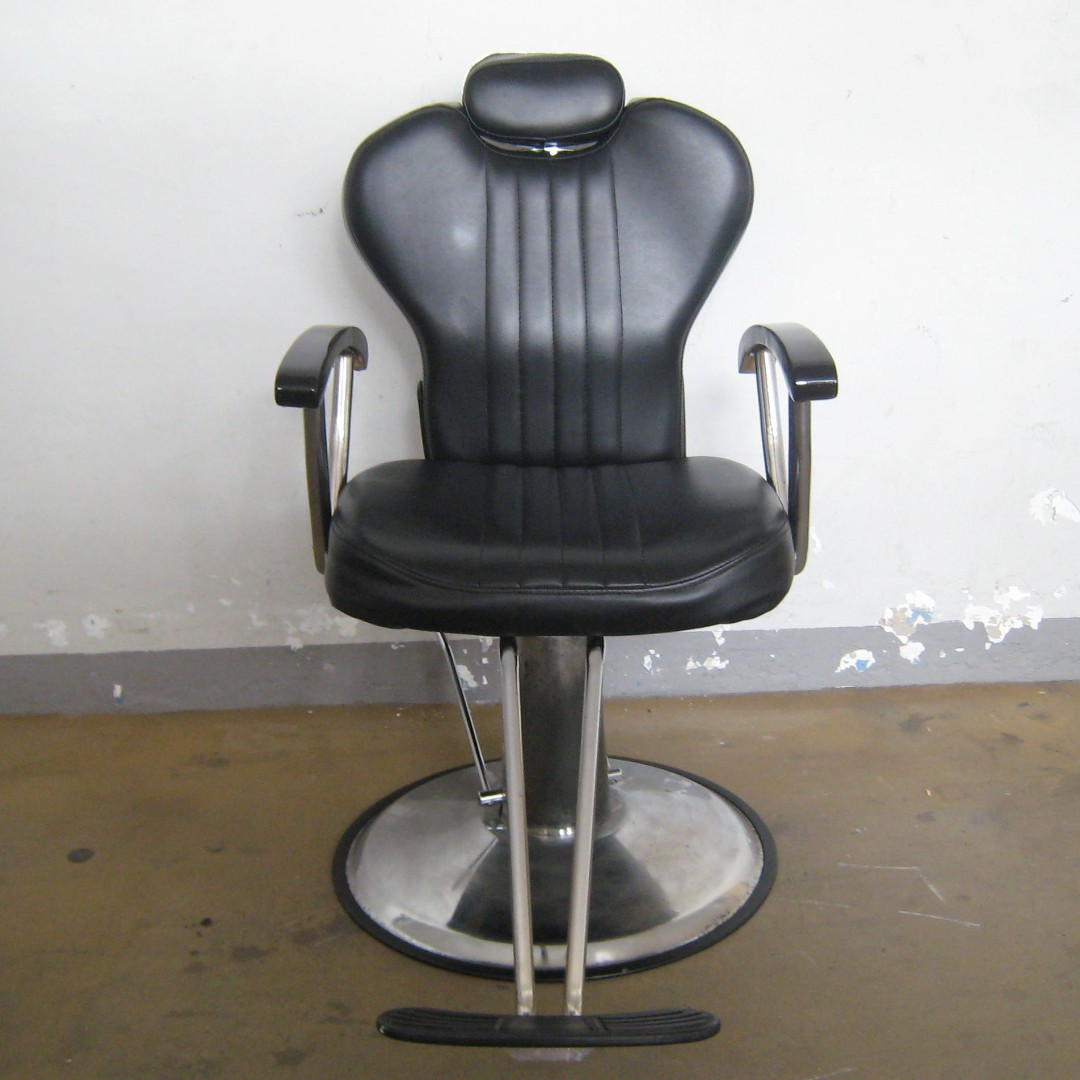Reclining Makeup Chair Used Salon Threading Makeup Cutting Reclining Chair