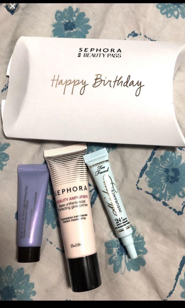 Sephora Gold Card Birthday Gift Health Beauty Makeup On Carou