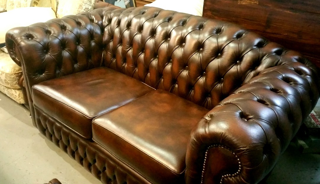 genuine leather sofa uk telebrands air bed review handmade from furniture sofas on carousell
