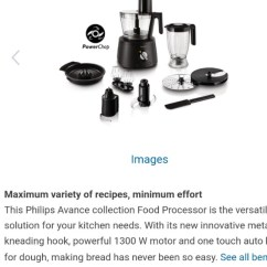 Philips Avance Food Processor Price Wiring Diagram For Sony Xplod Hr7776 91 Home Appliances Share This Listing