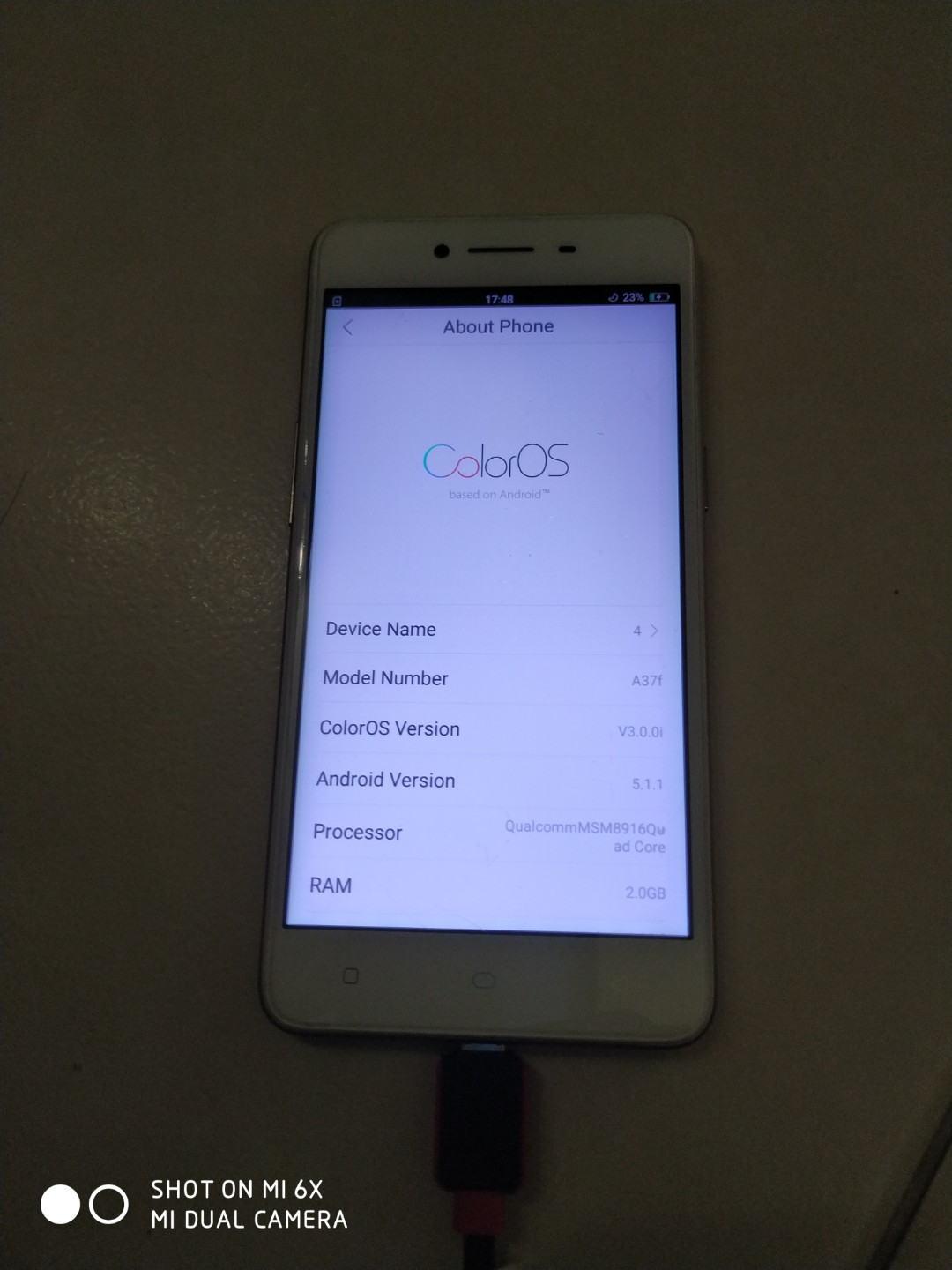 Hp Oppo A371 : Product