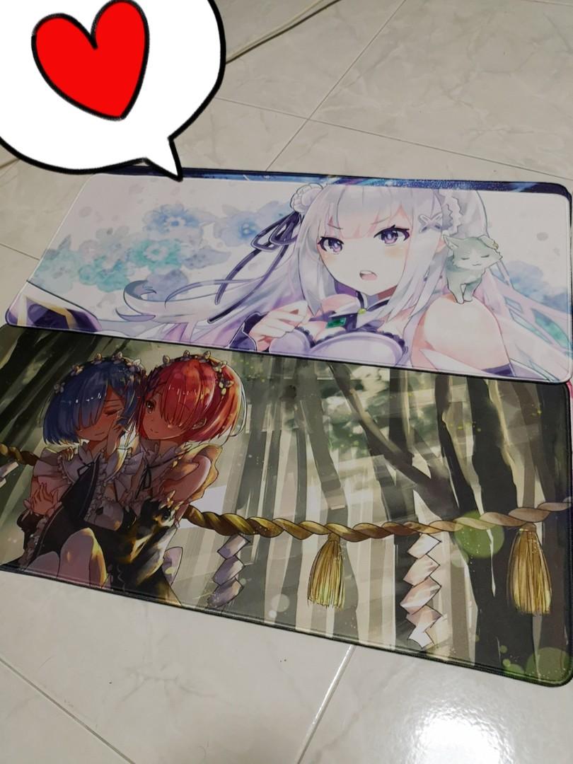 instocks large anime mousepad