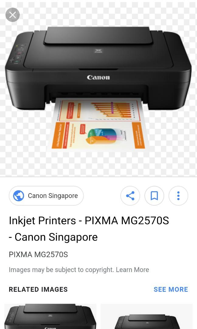 Driver Canon Pixma Mg2570s : driver, canon, pixma, mg2570s, Cheap, Canon, Printer, MG2570S,, Electronics,, Others, Carousell
