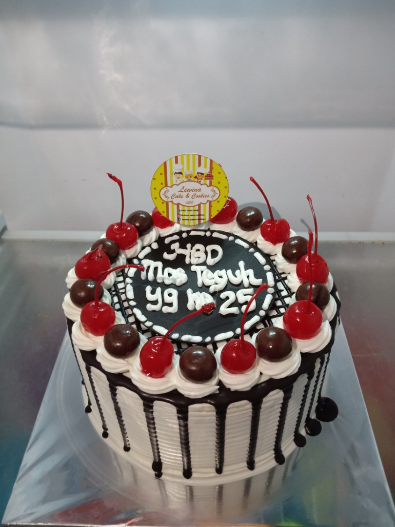 Bday Cake Food Drinks Baked Goods On Carousell