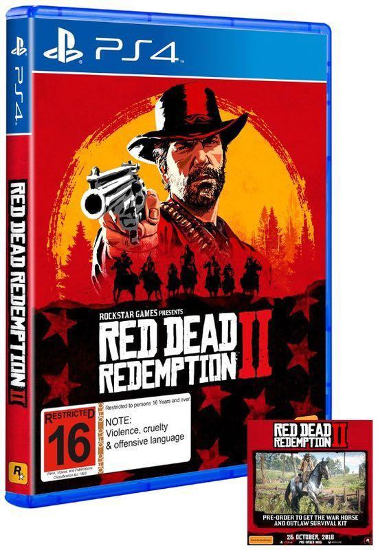 Red Dead Redemption 2 Guide Pdf : redemption, guide, Rockstar, Redemption, Complete, Guide,, Games,, Video, Gaming,, Games, Carousell