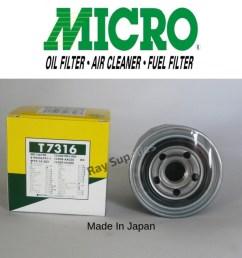 nippon micro oil filter t7316 md017440 md136466 26300 35502 26300 35504 for hyundai elantra ioniq getz verna trajet veloster matrix kia cerato  [ 1080 x 1080 Pixel ]