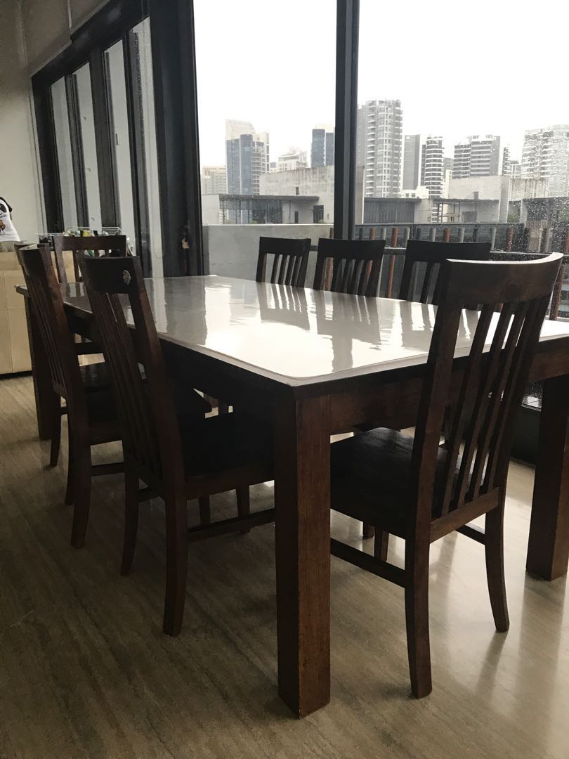 8 Chair Dining Set Big Dining Table With 8 Chairs