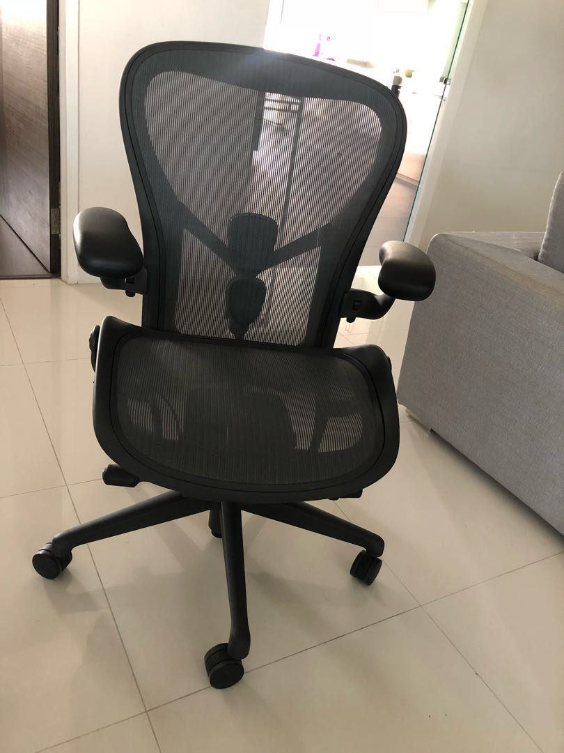 Aero Chair Herman Miller Aeron Chair With Posture Fit