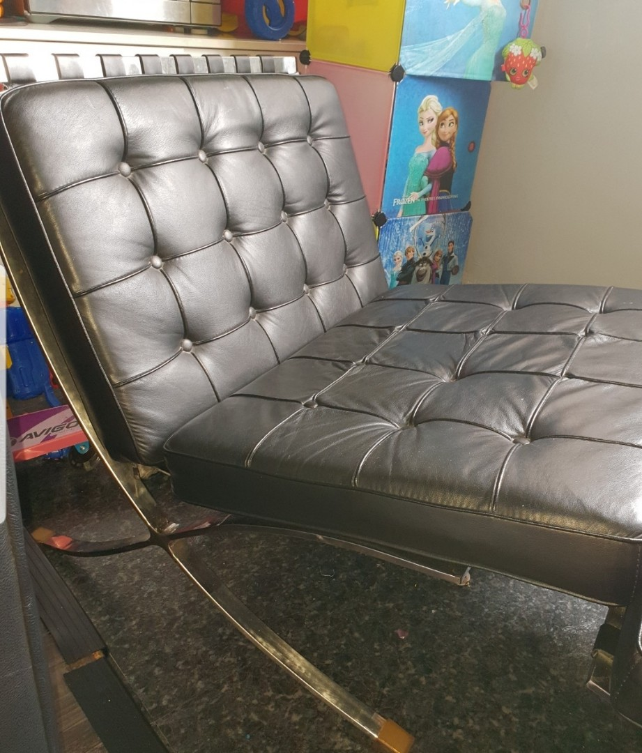 Barcelona Chairs For Sale Barcelona Knoll Real Genuine Leather Designer Chair