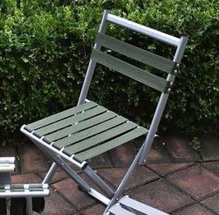 fishing chair singapore two tone walls with rail foldable outdoor small travel carousell used picnic 2 in 1 back rest weight 3kg