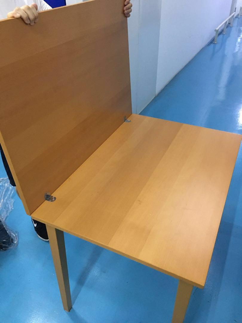 ikea extendable foldable table