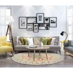 Round Area Rug In Living Room Western Furniture Sets Carpet Beautifully Bedroom Decor Share This Listing