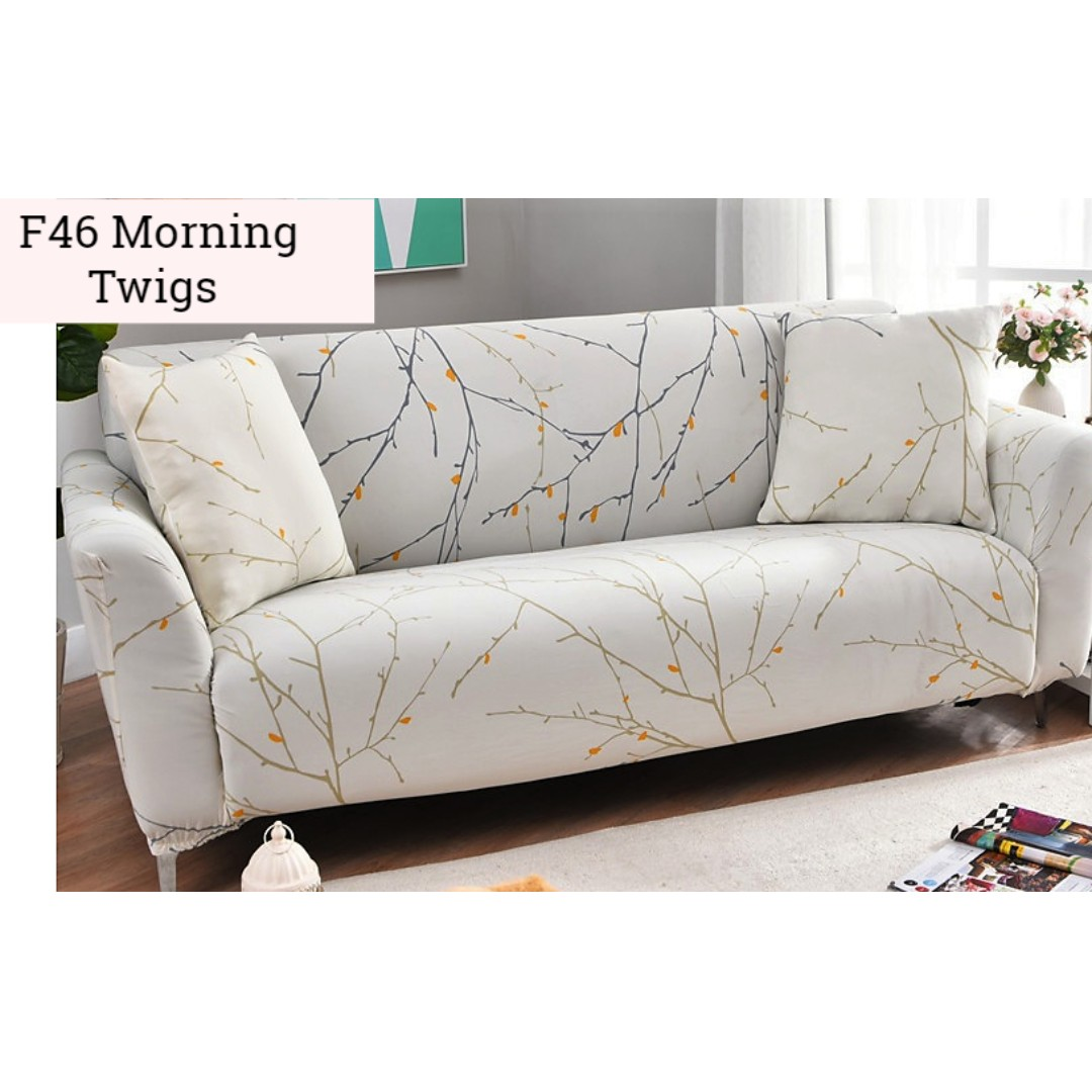 Chair Cover Patterns Morning Twigs Sofa And Chair Cover