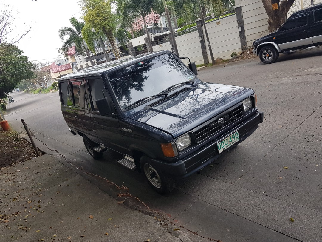 hight resolution of tamaraw fx 95 model deluxe standard cars for sale cars for sale on carousell