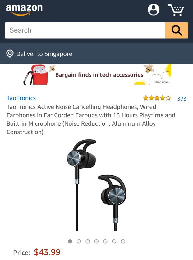 Taotronics Tt-ep01 : taotronics, tt-ep01, TaoTronics, TT-EP01, Electronics,, Others, Carousell