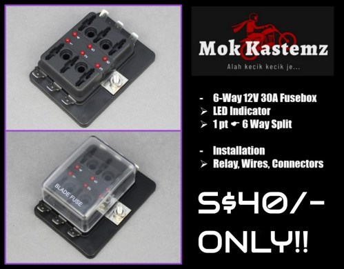 small resolution of motormotive fusebox motorbikes motorbike accessories on carousell fuse box motorcycle