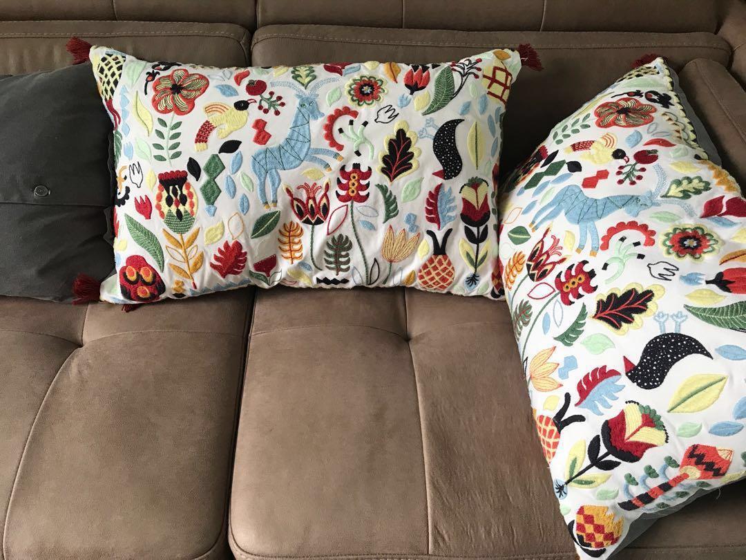 ikea fluffy cushion online