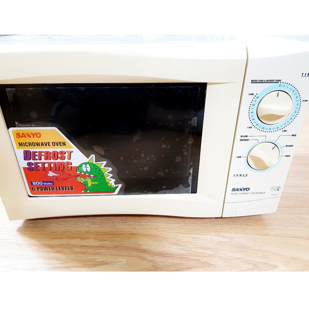 sanyo microwave oven