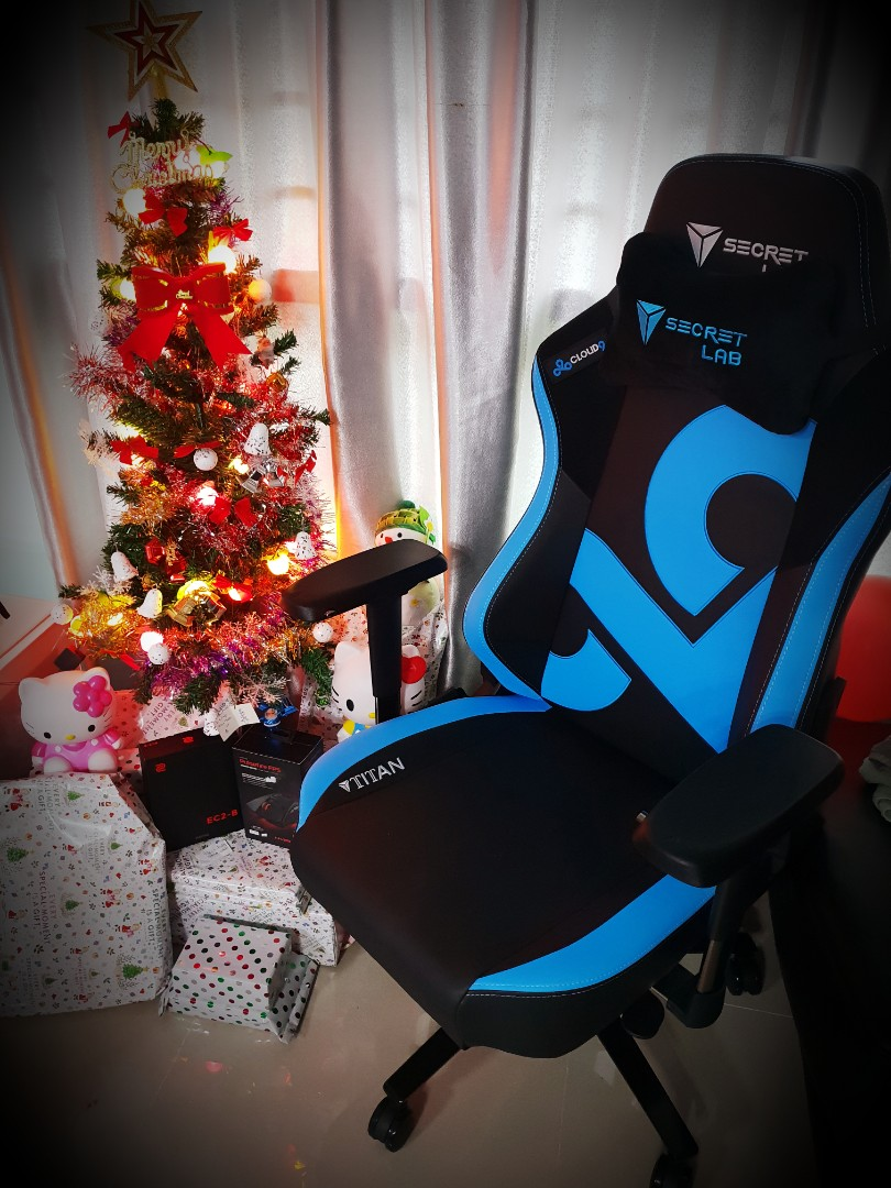 Cloud 9 Gaming Chair Secret Lab Titan Special Edition Cloud 9 Gaming Chair