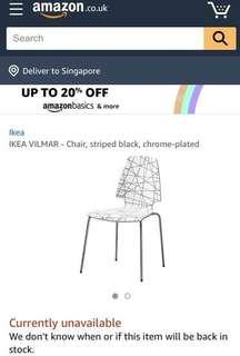 vilmar chair instructions flex one folding ikea furniture tables chairs on carousell