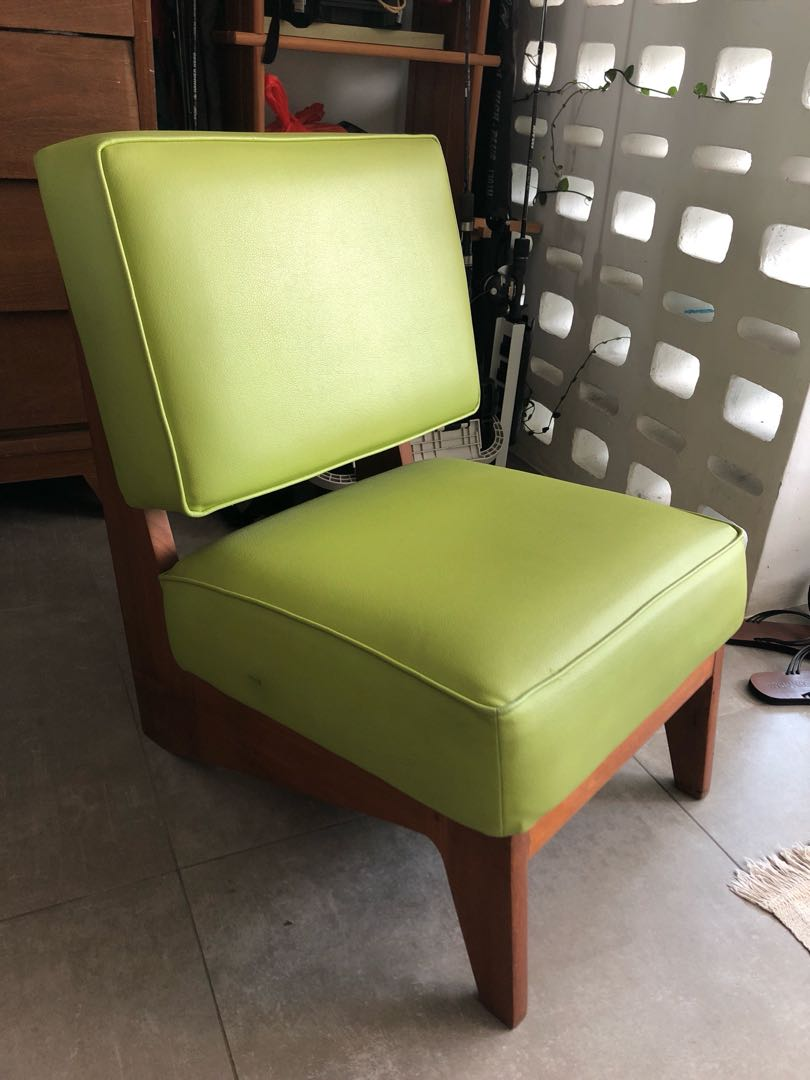 Lime Green Chairs 50 Off Retro Vintage Chair In Lime Green