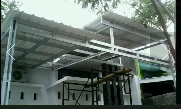 rangka atap baja ringan untuk teras bentu2 rumah dan kanopi home furniture on