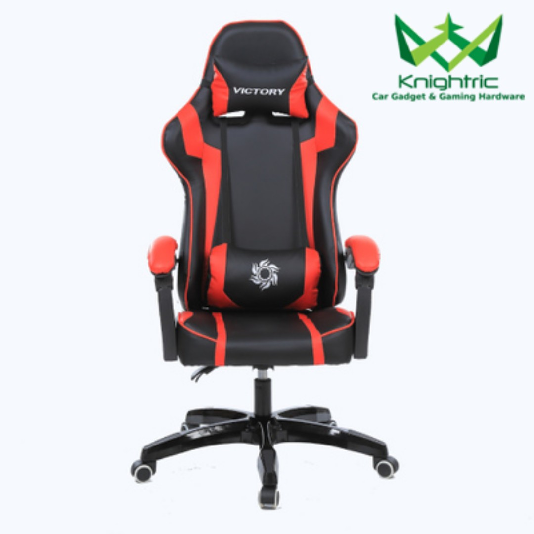 Gamers Chairs Knightric Blue Gaming Chair