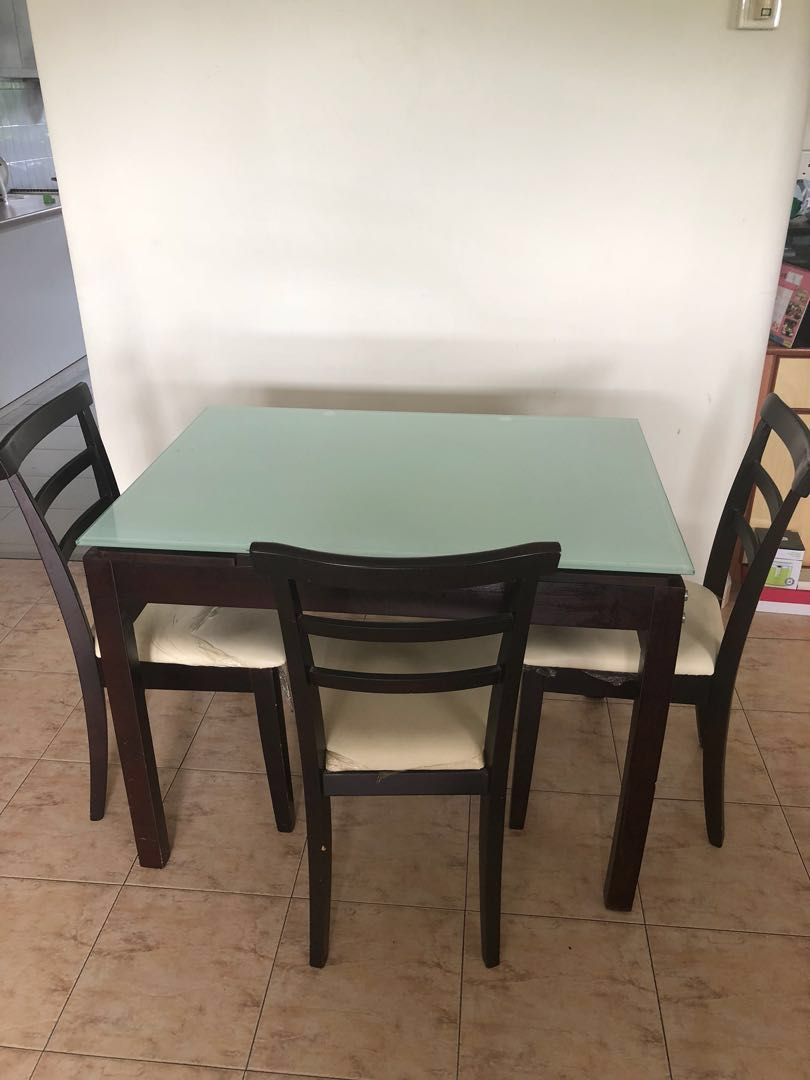 Used Dining Room Table And Chairs Dining Table And Chair Set
