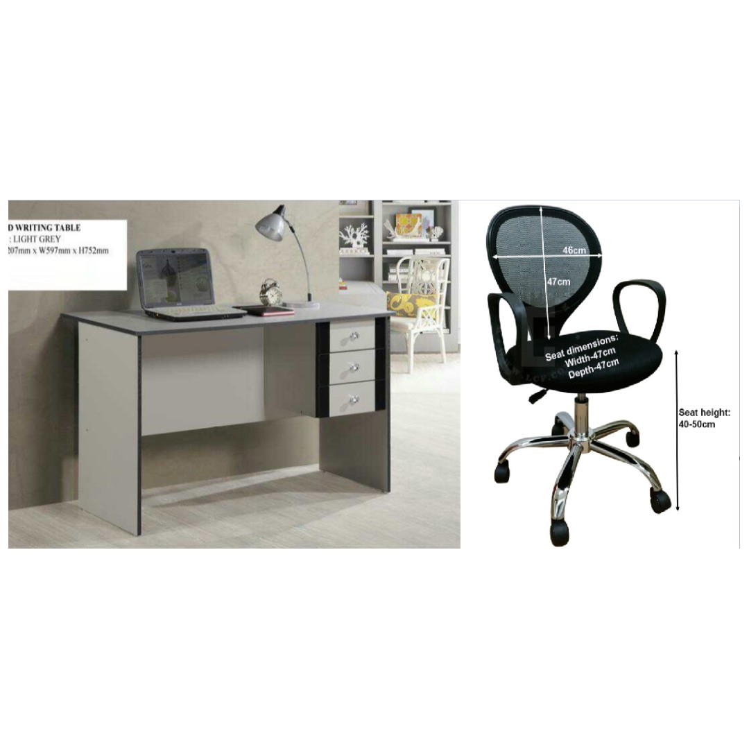 Study Table And Chair Study Table Table Desk Writing Table Writing Desk Chair Computer Chair Office Chair