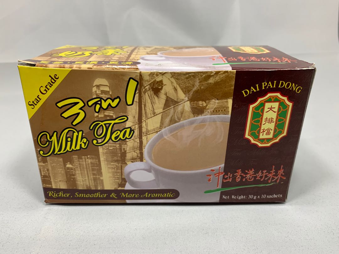 Dai Pai Dong 大排檔 Star Grade 3-in-1 HK Style Milk Tea. Food & Drinks. Beverages on Carousell