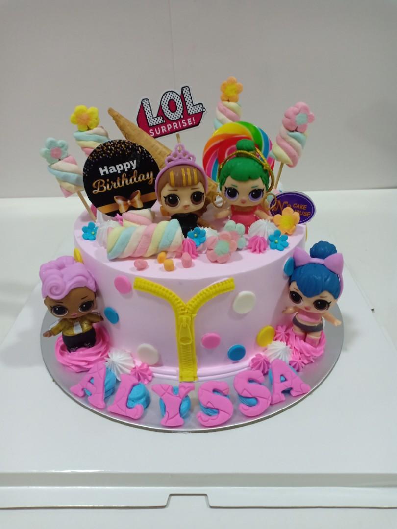 Lol Birthday Cake Food Drinks Baked Goods On Carousell