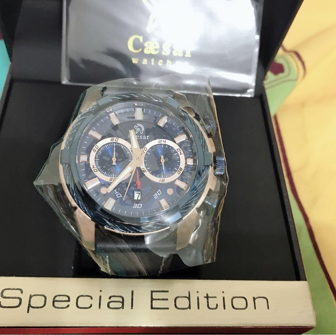 德國CAESAR凱撒王手錶, 名牌精品, 精品手錶在旋轉拍賣