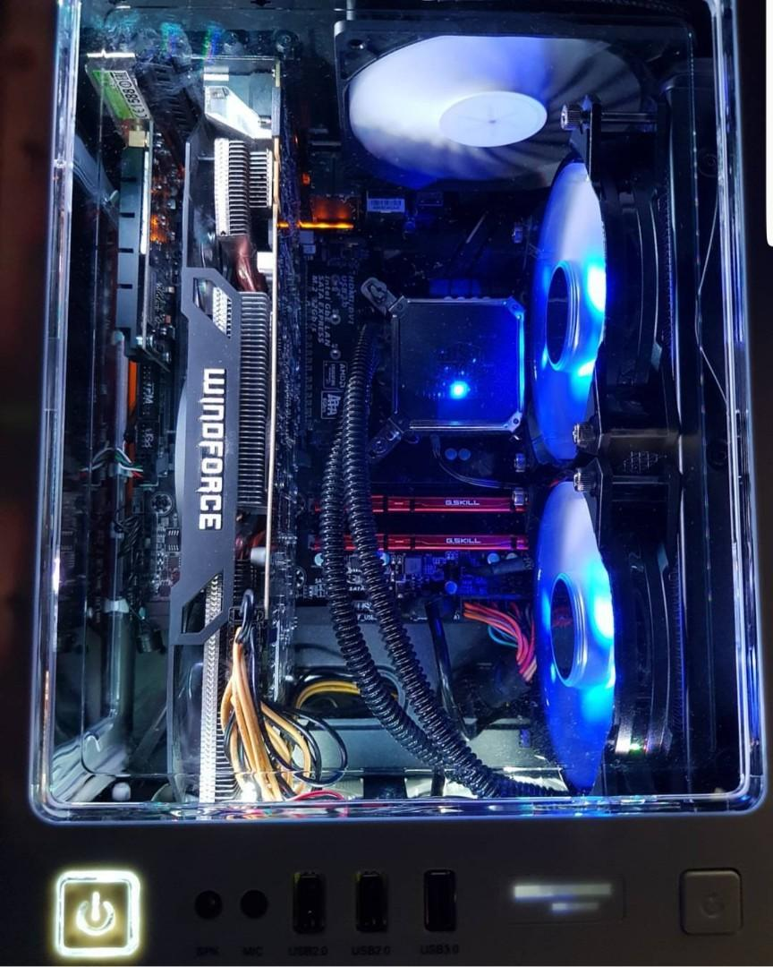 gaming pc complete set