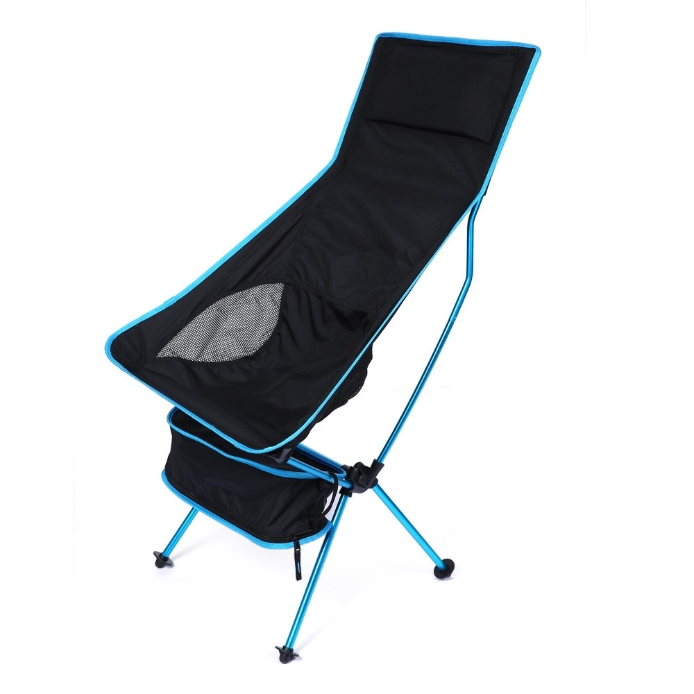 Portable Beach Chair Portable Folding Chair Fishing Camping Chair 600d Oxford Cloth Lightweight Seat Beach Chair For Outdoor Picnic Bbq With Bag