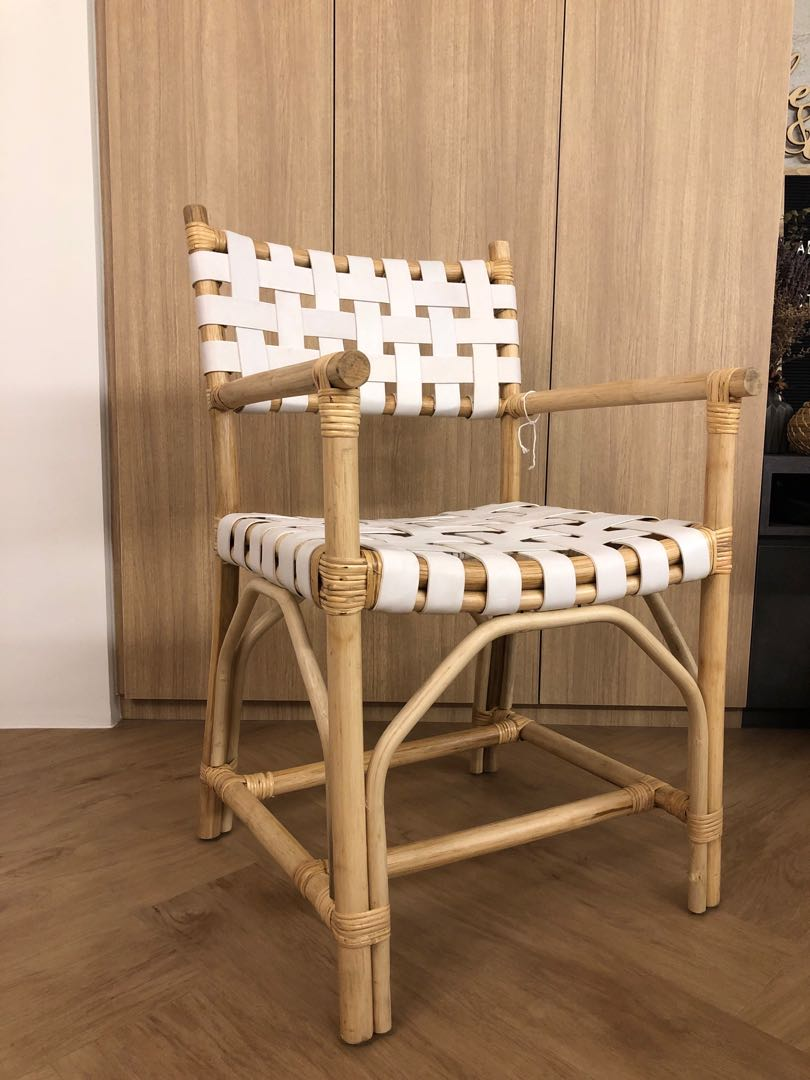 Woven Dining Chair Woven Leather Dining Chair