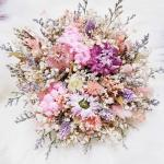 Rustic Dried Bridal Bouquet Customize Gardening Flowers Bouquets On Carousell