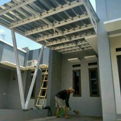 Kanopi Baja Design Ringan Termurah Sejabodetabek 081316030122 Olshop