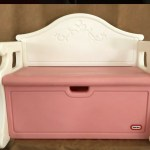 Little Tikes Vintage Victorian Toy Box Bench Babies Kids Toys Walkers On Carousell