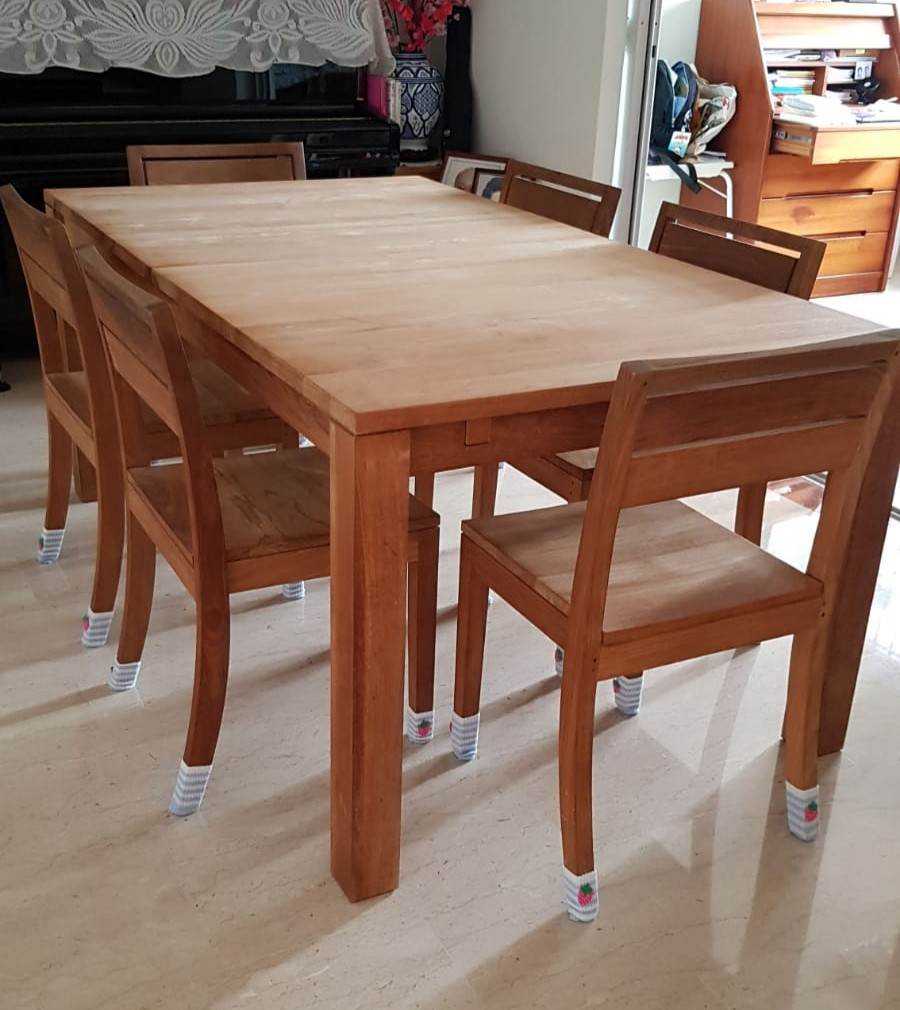 Teak Dining Room Chairs Teak Dining Table Chairs