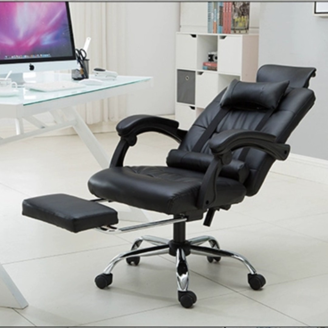 Massage Office Chair Office Chair With Massage Lie Down Leg And Neck Rest