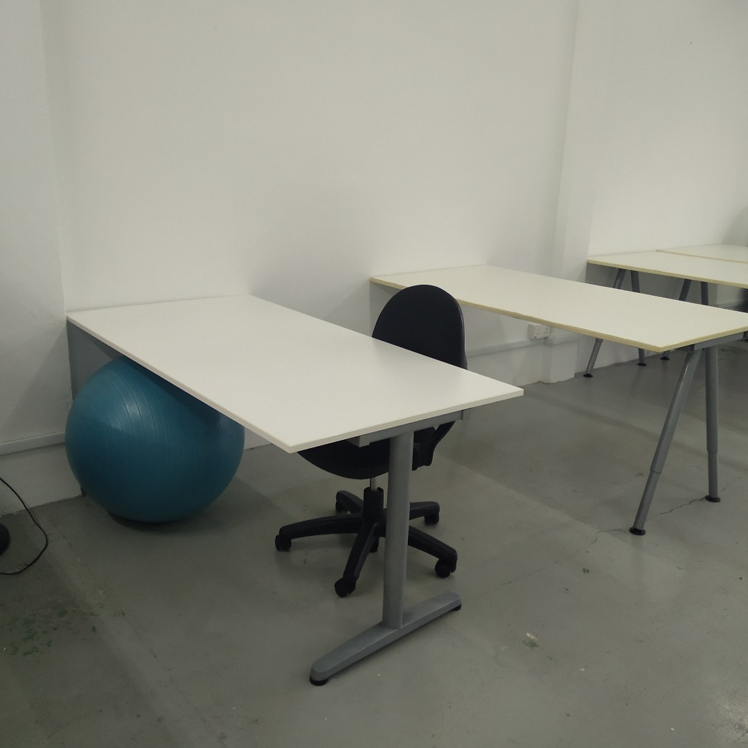 Flex Chairs Ikea Office Tables 160cm 80cm 75cm Flex Height