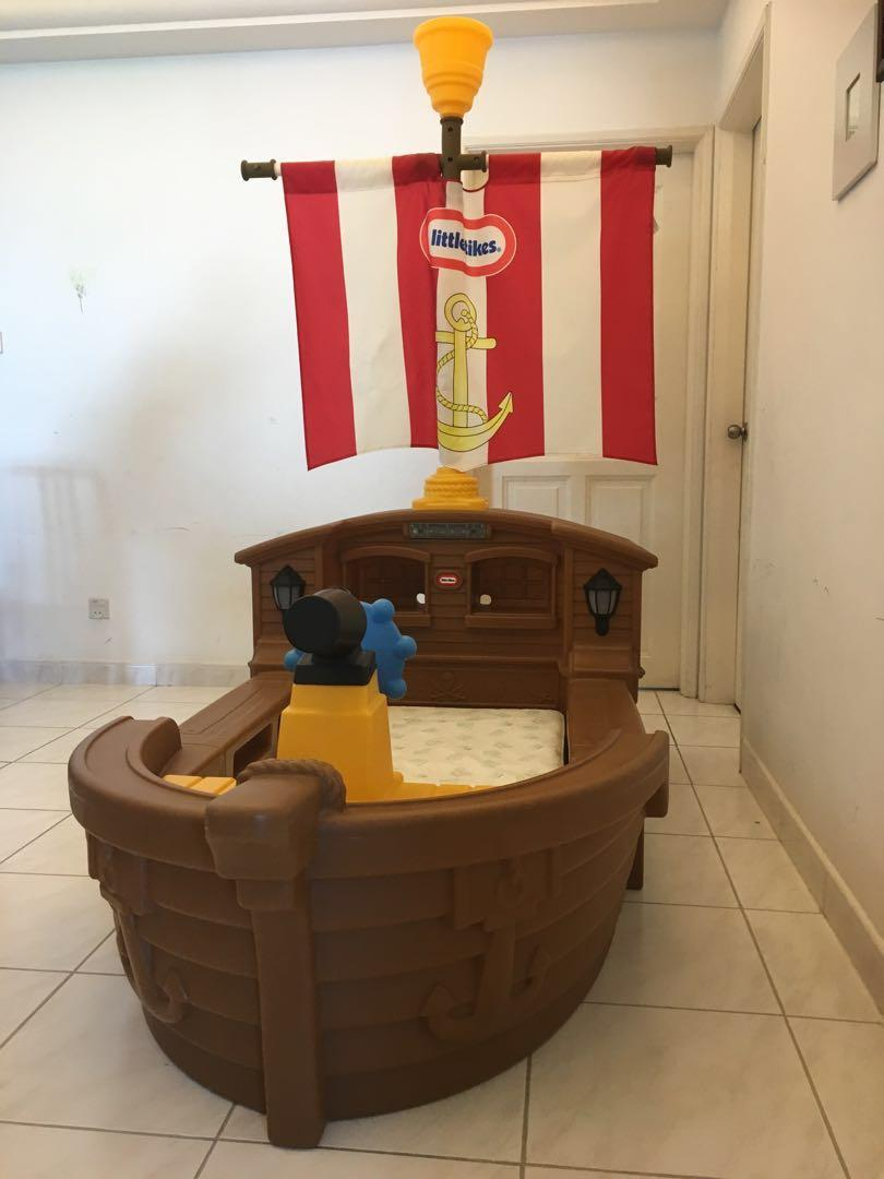 Littletikes Pirate Ship Bed Furniture Beds Mattresses On Carousell