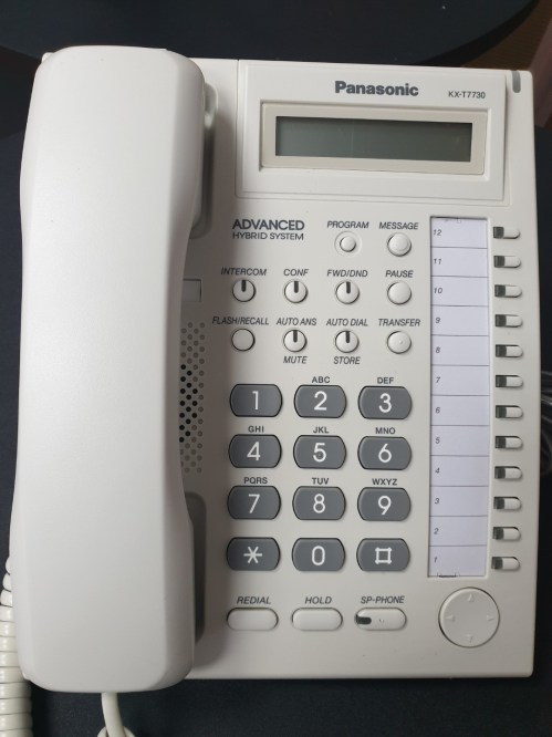 small resolution of panasonic kx t7730 office phone deskphone electronics others on carousell